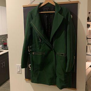 Zara Emerald Green Coat